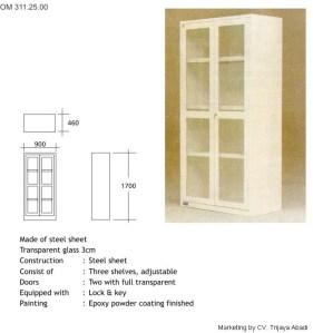 Instrument Cabinet 2 pintu
