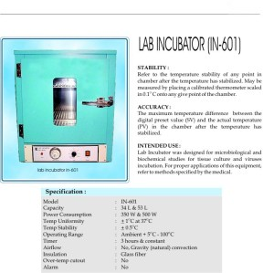 lab incubator-hot air oven