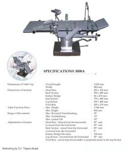 Meja Operasi Universal 3008A