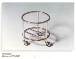 Pail-trolley