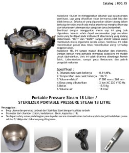 Steam 18 Liter SS