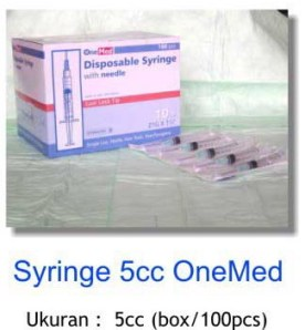 Syringe 5 CC