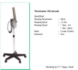 TENSIMETER HG Beroda