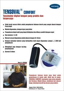 Tensoval tensimeter digital lengan
