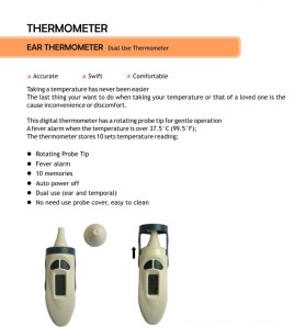 THERMOMETER Ear (anak)
