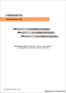 THERMOMETER Oral