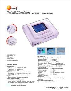 Fetal Monitor SRF 618 B ---