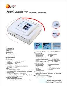 Fetal Monitor SRF 618 B++